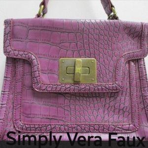 Simply Vera Faux Handbag